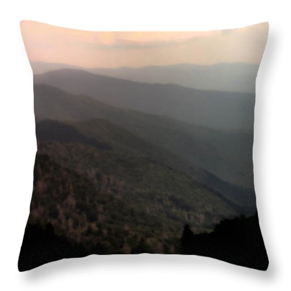 SONG of SERENITY Throw Pillow by KAREN WILES