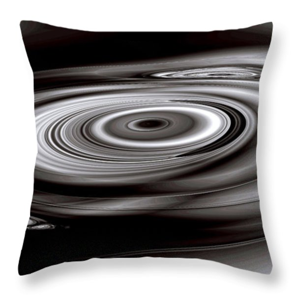 Sonic Mercury Throw Pillow by Kevin Trow