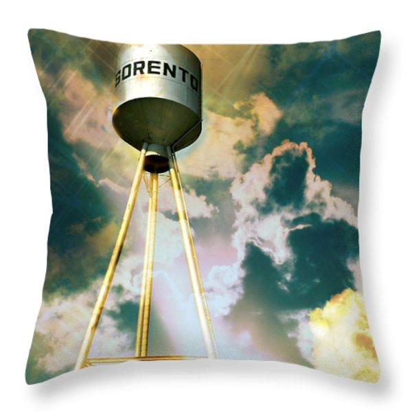 Sorento Illinois Tower Throw Pillow by Marty Koch