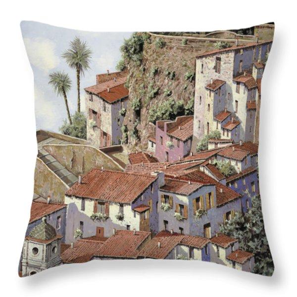 Sorrento Throw Pillow by Guido Borelli
