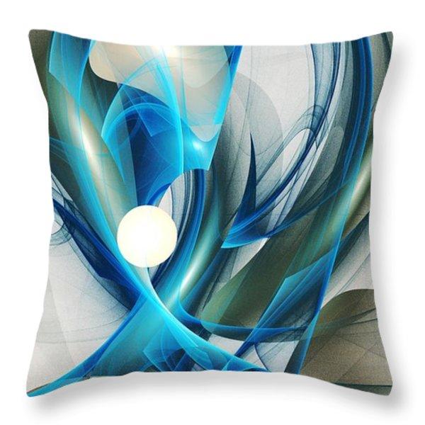 Soul Blueprint Throw Pillow by Anastasiya Malakhova