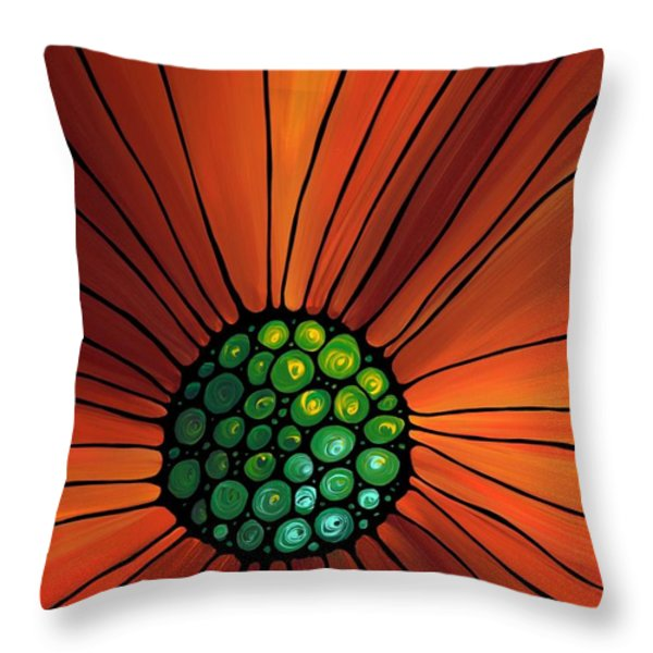 Soul Kiss 2 Throw Pillow by Sharon Cummings