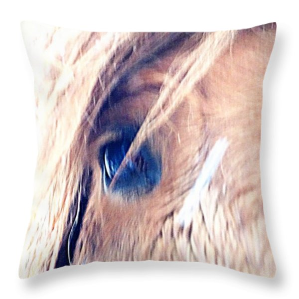 soul mate Throw Pillow by Hilde Widerberg