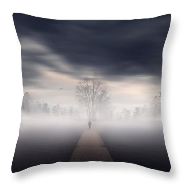 Soul's Journey Throw Pillow by Lourry Legarde