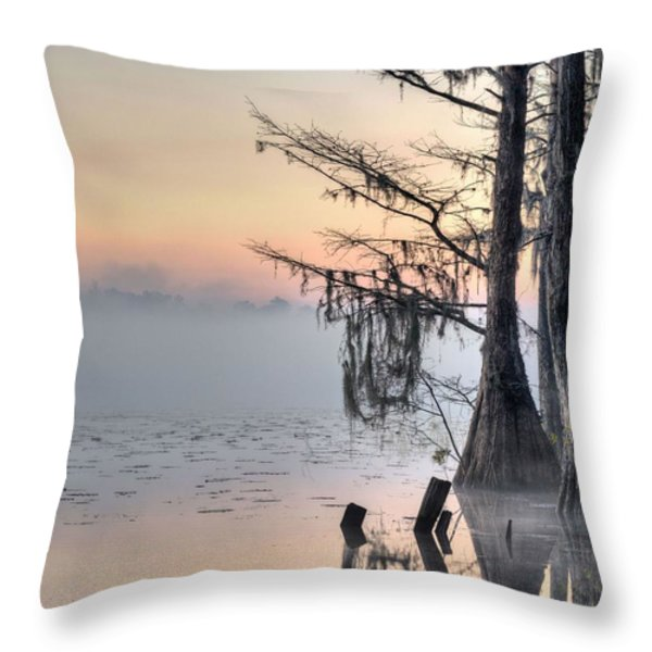 Southern Sunrise  Throw Pillow by JC Findley
