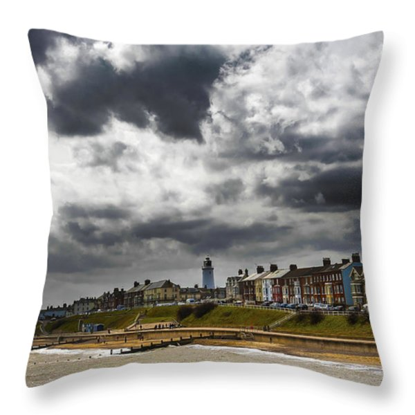 Southwold Throw Pillow by Svetlana Sewell