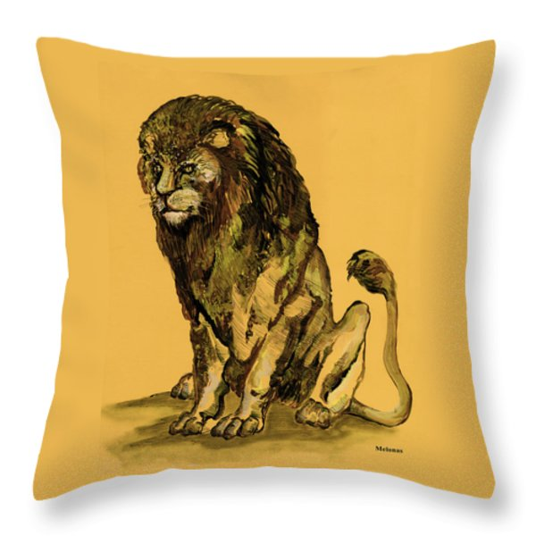 Sovereignty Throw Pillow by Peter Melonas