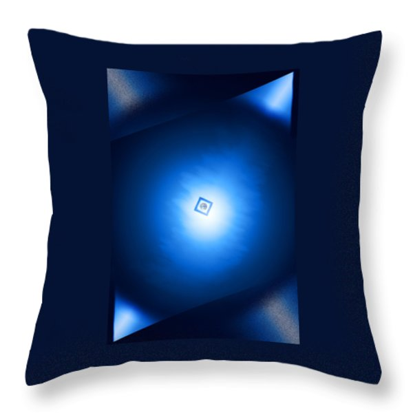 Space Design Throw Pillow by Kellice Swaggerty