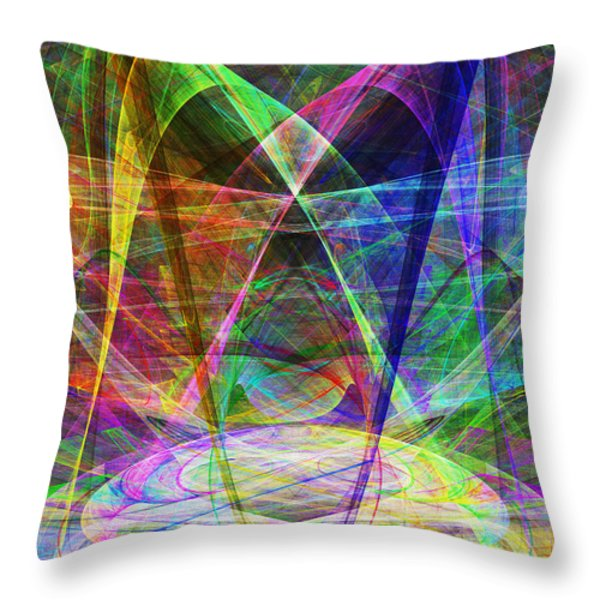 Space Odyssey 20130511v2 Throw Pillow by Wingsdomain Art and Photography