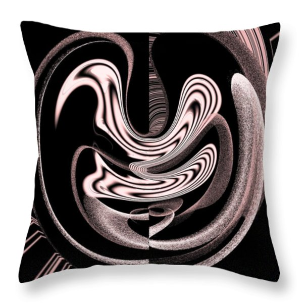 Space Time Continuum Throw Pillow by Georgeta  Blanaru