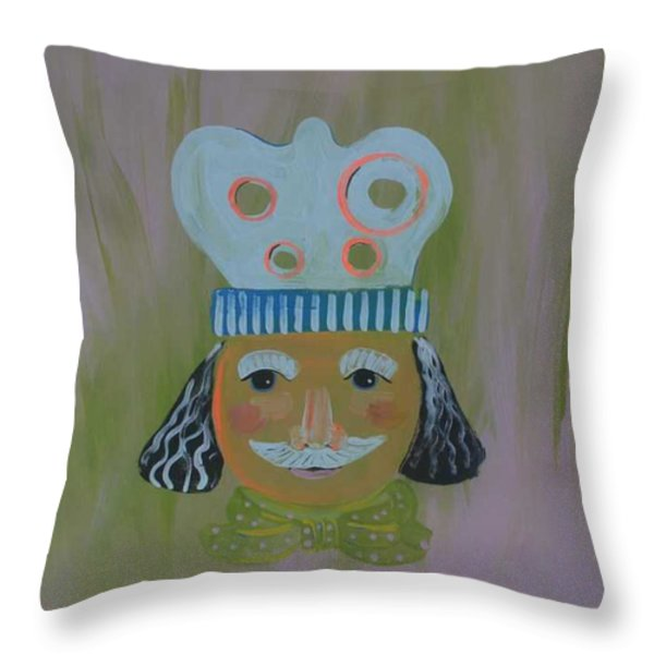 Spagetti Lovers Throw Pillow by PainterArtist FIN