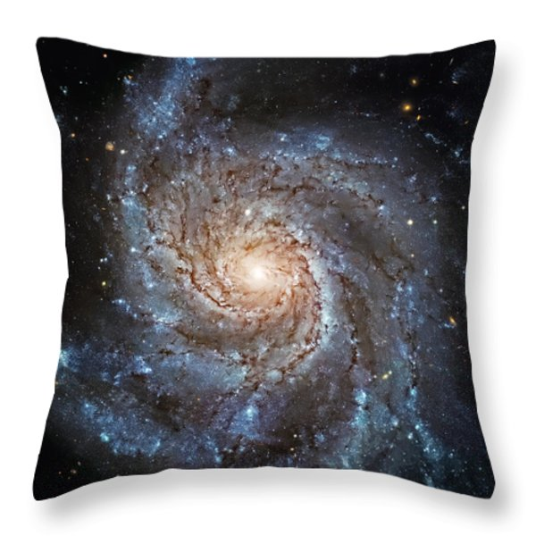 Sparkle Throw Pillow by The  Vault - Jennifer Rondinelli Reilly
