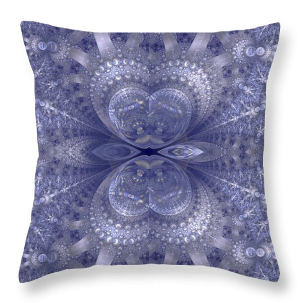 Sparkling Throw Pillow by Sandy Keeton