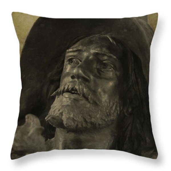 Spartacus Throw Pillow by Dan Sproul