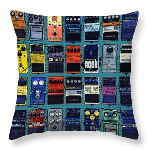 Special Effects Throw Pillow by Russell Pierce