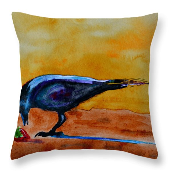 Special Treat Throw Pillow by Beverley Harper Tinsley