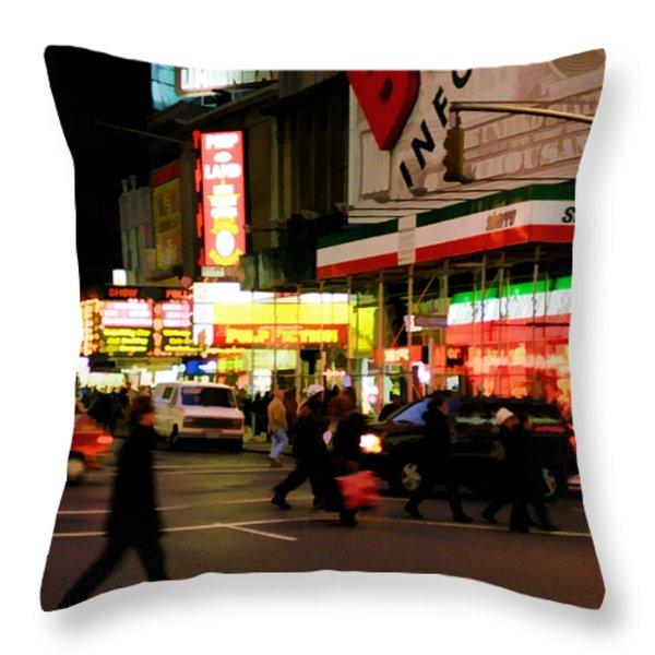 Speed Throw Pillow by Joann Vitali
