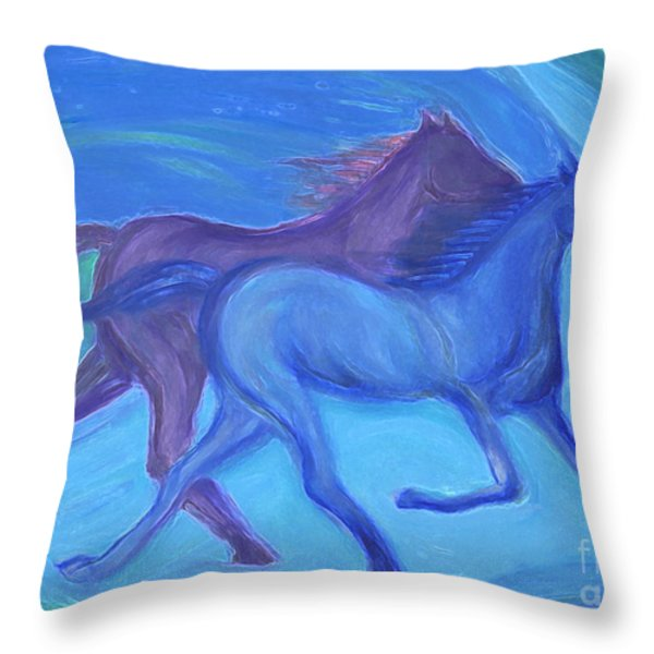 Spirit Guide By Jrr Throw Pillow by First Star Art