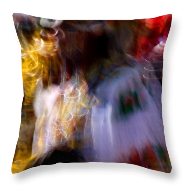 Spirits 2 Throw Pillow by Joe Kozlowski