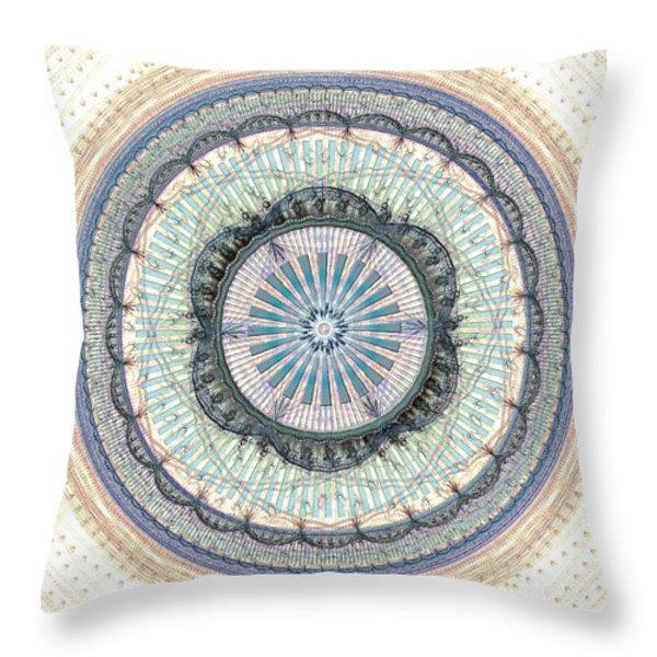 Spiritual Growth Throw Pillow by Anastasiya Malakhova