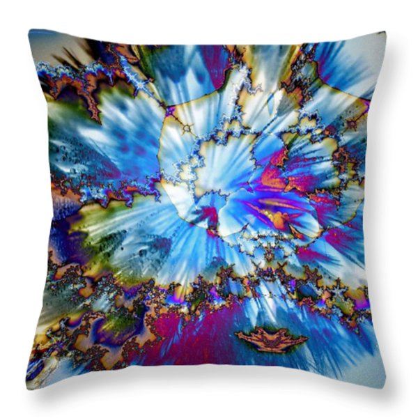 Splaaaat.... Throw Pillow by Nancy Pauling