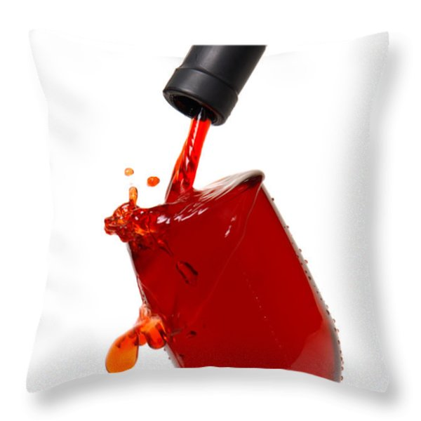 Splash Throw Pillow by Olivier Le Queinec