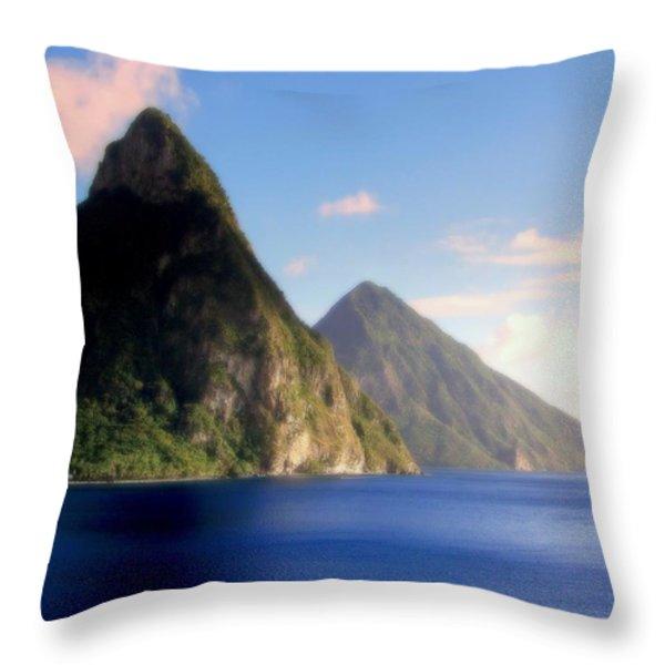 Splendor  Throw Pillow by Karen Wiles