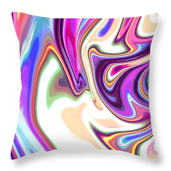 Split Personality Throw Pillow by Chris Butler