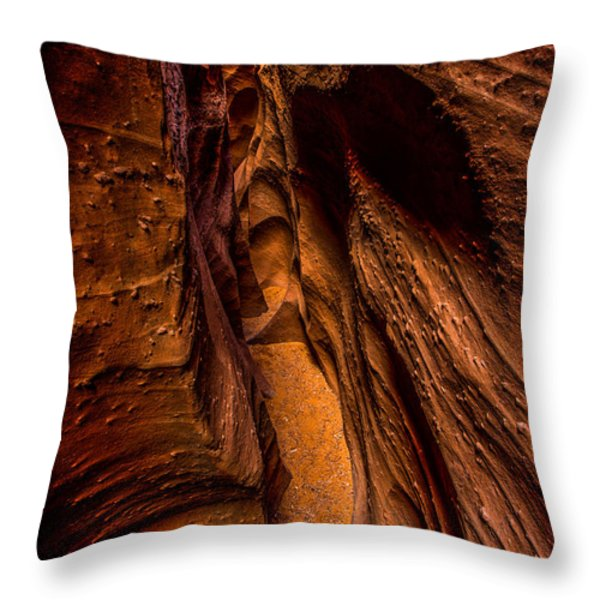 Spooky Colors Throw Pillow by Chad Dutson