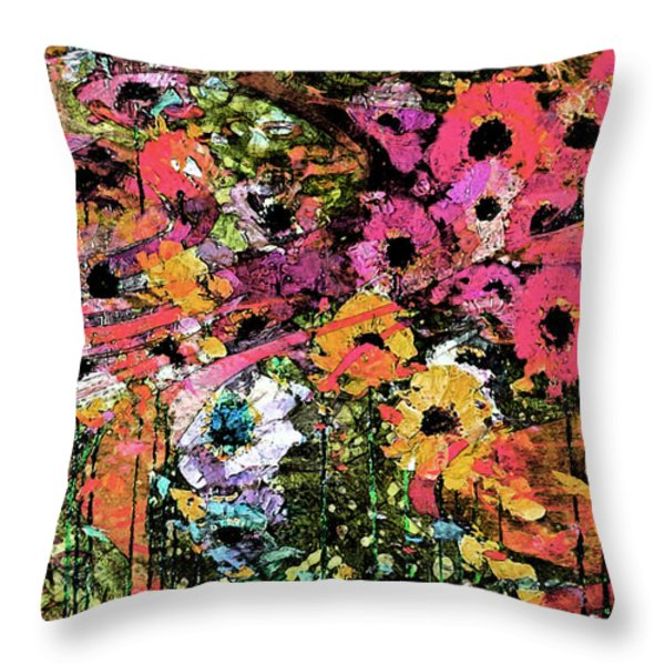 Spring Eternal Throw Pillow by Catherine Harms