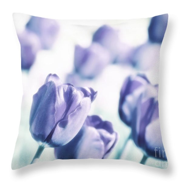 Spring Love II Throw Pillow by Angela Doelling AD DESIGN Photo and PhotoArt