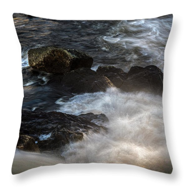 Spring Thaw II Throw Pillow by Bob Orsillo