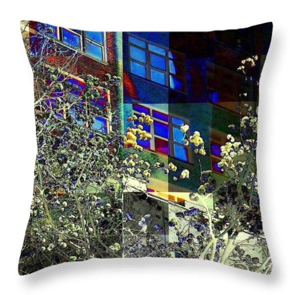 Springtime In New York 8 Throw Pillow by Miriam Danar