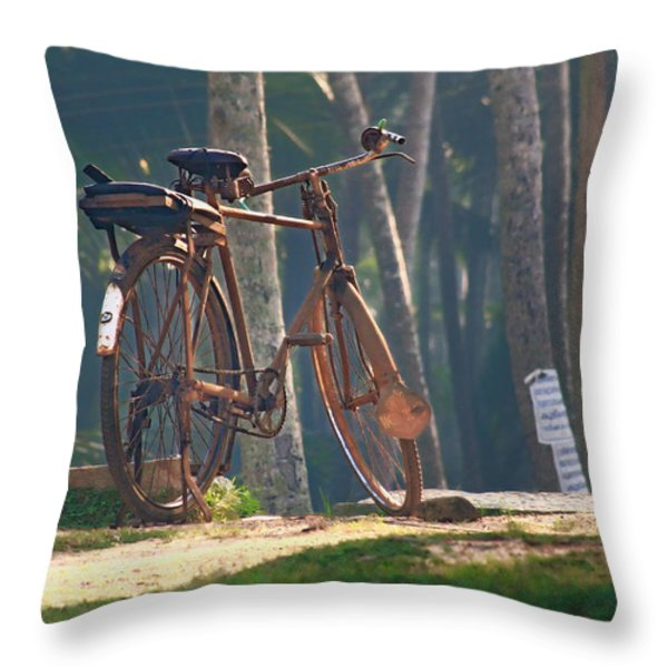 Stand In The Place That You Are.. Throw Pillow by A Rey