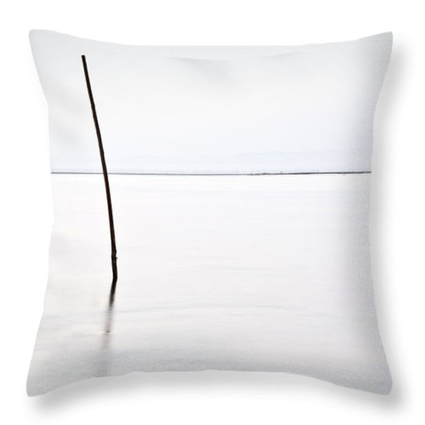 Standing alone Throw Pillow by Jorge Maia
