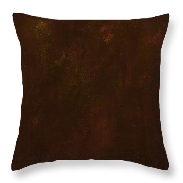 Standing By Two Rivers Throw Pillow by Frances Marino