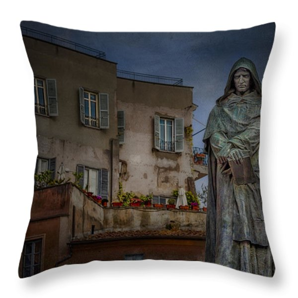 Standing Guard Throw Pillow by Erik Brede
