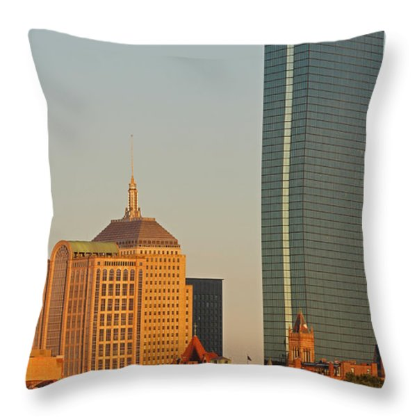 Standing Tallest Throw Pillow by Juergen Roth