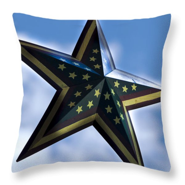 Star Throw Pillow by Annette Persinger