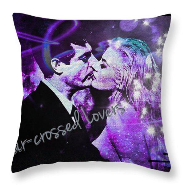 Star-crossed Lovers Throw Pillow by Absinthe Art By Michelle LeAnn Scott