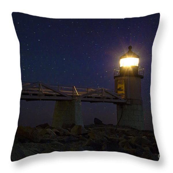 Star Light Throw Pillow by John Greim