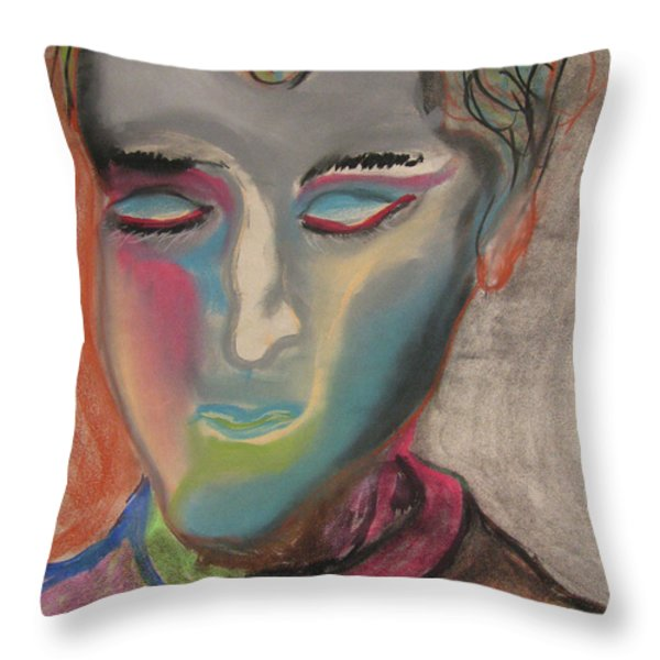 State Of Solace Throw Pillow by Peter Piatt