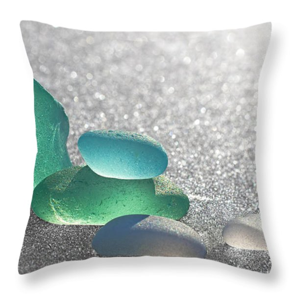 Stay Close Throw Pillow by Barbara McMahon
