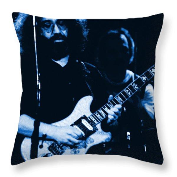 Stella Blue At Winterland 3 Throw Pillow by Ben Upham