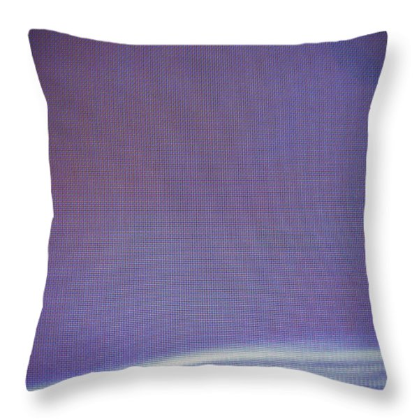 Stellar Ribbon Throw Pillow by Eric Canuel