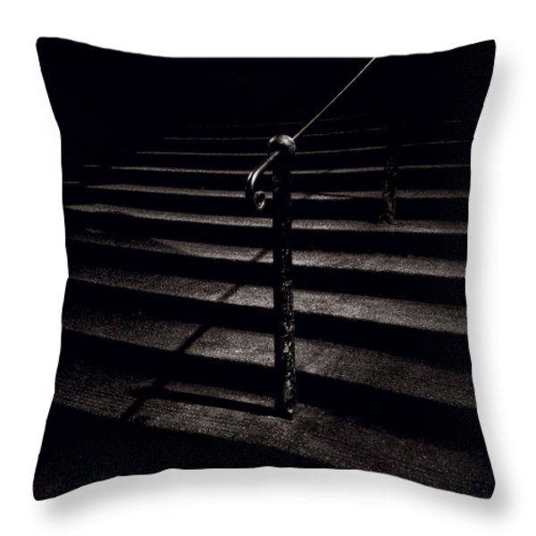Steps To Advocate's Close Throw Pillow by Dave Bowman