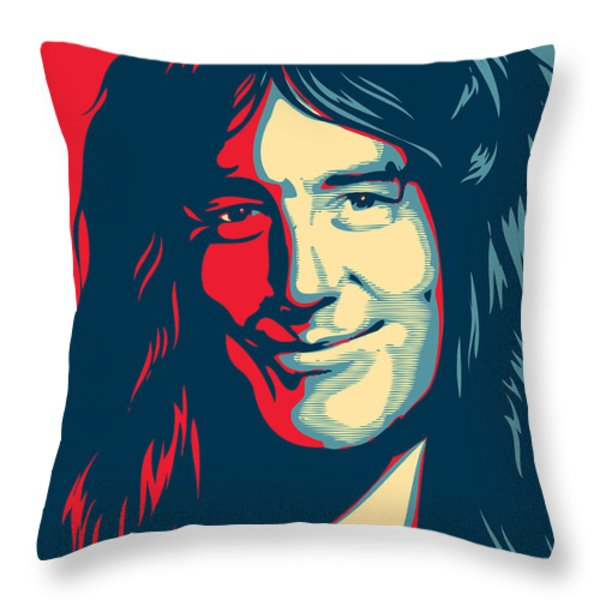 Steve Harris Throw Pillow by Unknow