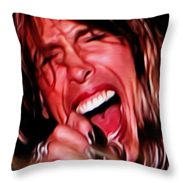 Steven Throw Pillow by Cheryl Young