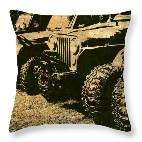 Sticks And Stones ... Won't Break My Bones Throw Pillow by Luke Moore