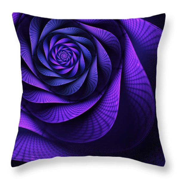 Stile Floreal Throw Pillow by John Edwards